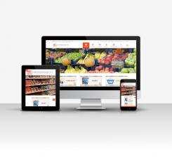 Süpermarket Web Tasarım V1